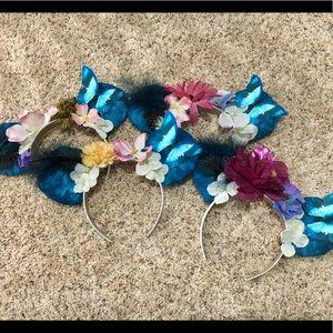 HANDMADE Disney Pandora Minnie Mouse Ears Headband